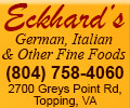 Eckhards's German, Italian & Other Fine Food
